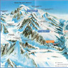 Map of Aiguille du Midi