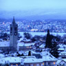 Zurich in the winter